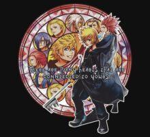 Kingdom Hearts Roxas Quotation by KyouuSunshiine