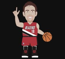 NBAToon of Victor Claver, player of Portland Trail Blazers by D4RK0