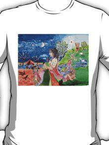 Flower Girl's Story T-Shirt