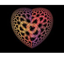 Heart Tiles Photographic Print