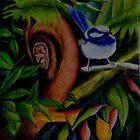 Rainforest Twitter by Sandra  Sengstock-Miller
