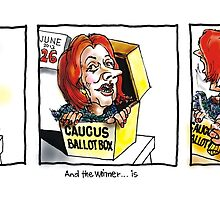 The Ballot Box by Ken Tregoning