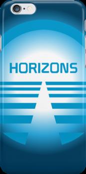 Horizons iPhone & iPod Case by wdwstuff