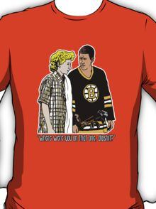 """Happy Gilmore - """"Where were you"""" T-Shirt"""
