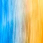 Blue Yellow Orange by Tim Schoch