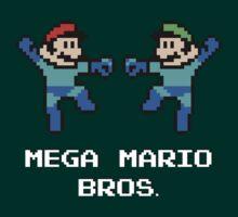 Mega Mario Bros. by JDNoodles
