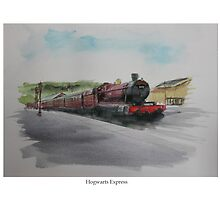 Hogwarts Express by Lightrace