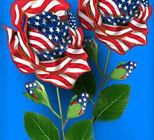 ✰* ★UNITED STATES PATRIOTIC ROSE PICTURE /CARD✰* ★ by ✿✿ Bonita ✿✿ ђєℓℓσ