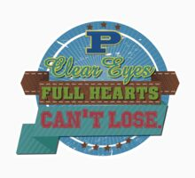 """Clear eyes, full heart, can't lose"" - Friday Night Lights by WitchDesign"