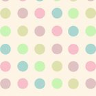 Colorful Polka Dots - Digital Art Print by WayfarerPrints
