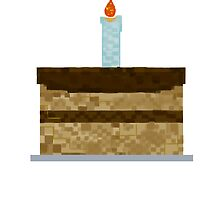 Minecraft Birthday Cake  by SamWhere