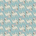 French Bulldog pattern by neonflower