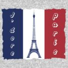 I adore paris by nadil