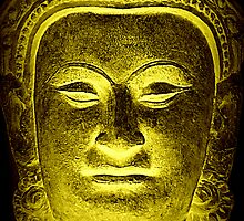 Golden Buddha by plcimages