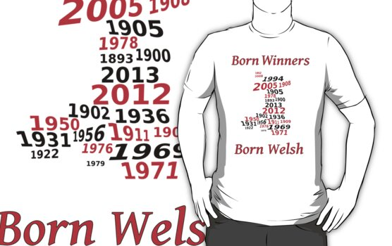 Welsh nations the winning years Wales by sjbaldwin