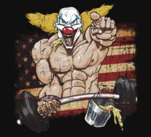 Crossfit - Pukie - USA by fragworks