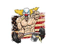 Cross fitness - Puker - USA Photographic Print
