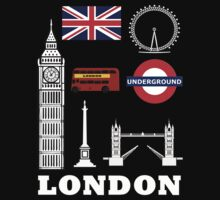 City of London landmarks by nadil