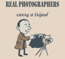 Real Photographers Carry a Tripod by Susan Gottberg