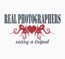 Real Photographers Carry a Tripod II by Susan Gottberg