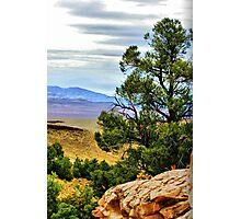 Hiking in Nevada Photographic Print