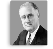 Franklin Delano Roosevelt  Canvas Print