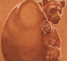 """""""BearGirl""""  by Sergei Rukavishnikov by Alenka Co"""