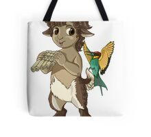 F is for Faun Tote Bag