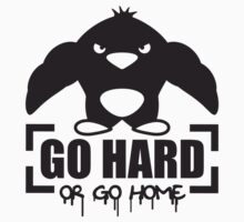Go Hard Or Go Home Muscle Penguin by Style-O-Mat
