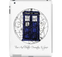 Time And Relative Demention In Space iPad Case/Skin