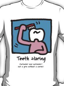 Teeth Haring_A (color) T-Shirt