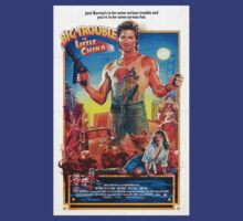 Jack Burton / Big Trouble In Little China by pulpstyles