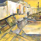 Spain - Spanish Harbour 05 by Goodaboom