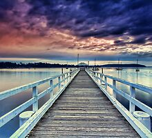 Batemans Bay Jetty by Arfan Habib