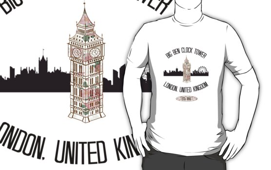 Big Ben Clock Tower by Critiquer