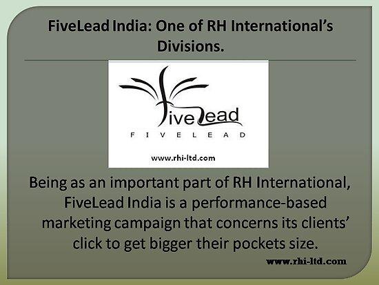 Fivelead: Premium lead generation services by rhiltd