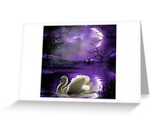 Moonlight Serenade Greeting Card