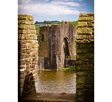 Caerphilly Castle Photographic Print