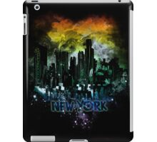 stormy city - New - York iPad Case/Skin