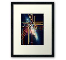 Interweb Framed Print