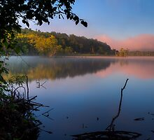 Delta Lake at Dawn by Joseph T. Meirose IV