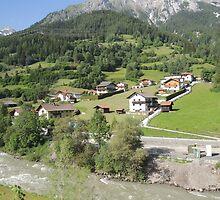 Somewhere between Zurich and Innsbruck by CreativeEm