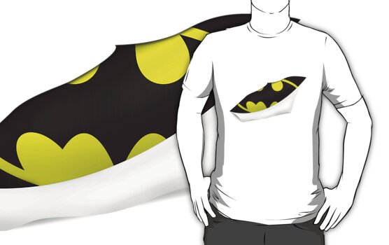Batman - Torn t-shirt by chubbyblade
