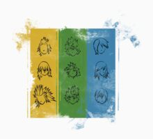 Kingdom Hearts Trios by HardlyQuinn