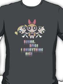 Powerpuff Girls Pastel Ingredients T-Shirt