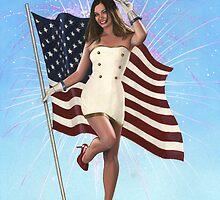 Patriotic by KC Art