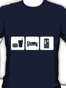 Eat Sleep and Doctor Who T-Shirt
