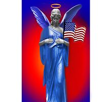 ✿♥‿♥✿SAFE BENEATH AN ANGELS WINGS IPHONE CASE.. TRIBUTE TO U.S.A.✿♥‿♥✿ by ✿✿ Bonita ✿✿ ђєℓℓσ