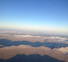 Tanned Mountains  by emmalekiwi