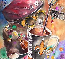 Bear on Bourbon by Goodaboom